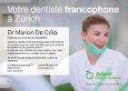 Votre dentiste francophone à Zürich